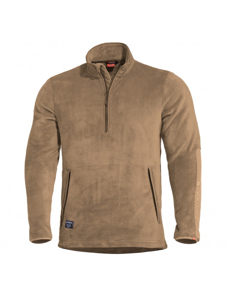 K09022 Grizzly 1/2 Sweater Coyote